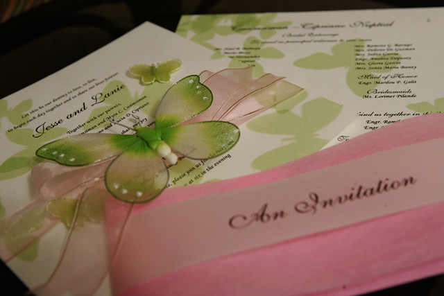 Jess and Lanie's Wedding Invitations
