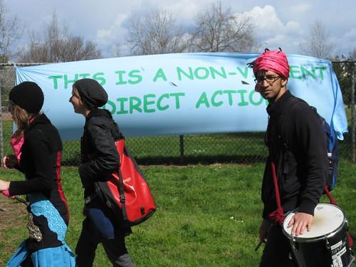 non-violent direct action