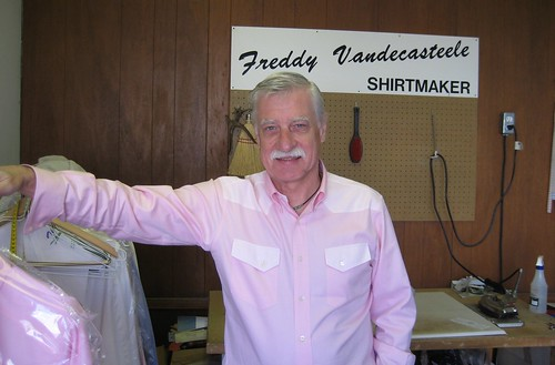 Freddy Vandecasteele, Shirt Maker