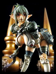 Mega House Queen's Blade - Mercenary Echidna (Ed Speir IV) Tags: woman anime sexy statue female fetish nude toy japanese manga queens figure warrior blade 18 import hentai echidna mercenary queensblade
