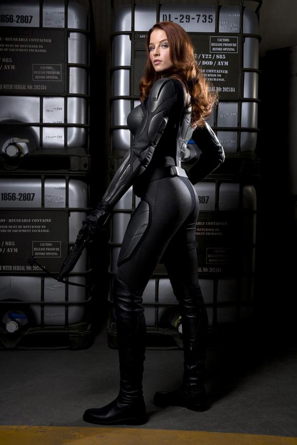 G.I. Joe Rachel Nichols es Scarlett