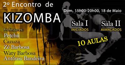 1001 Danças - Flyer