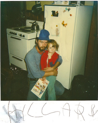 me and my dad 1983