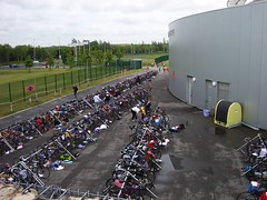 transition (Pulse Triathlon Club) Tags: dublin 2008 fingal