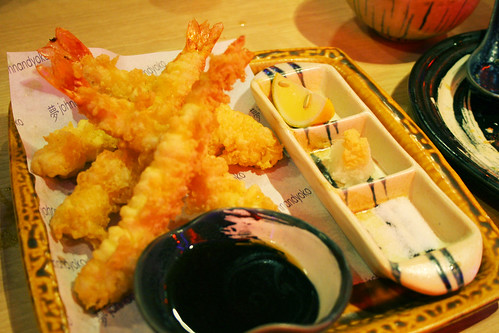 Ebi Tempura at John and Yoko