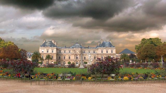 foto immagini  jardin du luxembourg paris  parigi