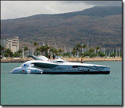 Earthrace in Hawaii 2008