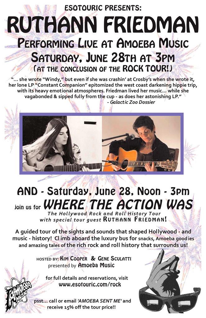 Ruthann Friedman at Amoeba Music 6/28/08