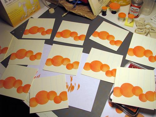 Orange Wedding Invitation Set-2