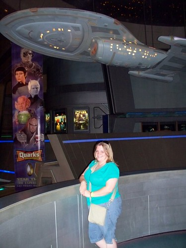 Erin beneath the Voyager