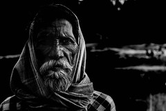 Random Indian:) (Henry_Photography) Tags: india street travel man people bw blackandwhite nikon d3300 asia flickrtravelaward