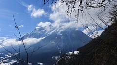 Vollèges (bulbocode909) Tags: valais suisse vollèges valdentremont catogne montagnes nature hiver neige nuages brume branches bleu