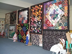 quilts and dolls 010_2 (sakajowa) Tags: quilt expo sandys aunty
