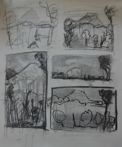 Landscape Sketches #4
