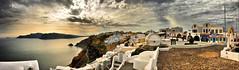 SANDORINI Panorama 6_fhdr A (jimlaga) Tags: panorama nikon jim greece laga sandorini d700 jimlaga