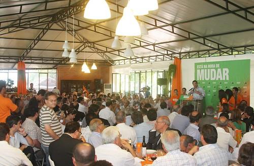 Pedro Passos Coelho almoço em Cucujães-838E7694
