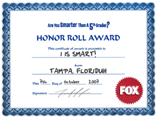 I Am Smarter Than A Fifth Grader!