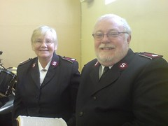 Lt Col Dawn and Roland Sewell
