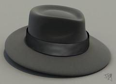 Fedora (Th3 ProphetMan) Tags: hat 3d cg fedora sombrero ganster