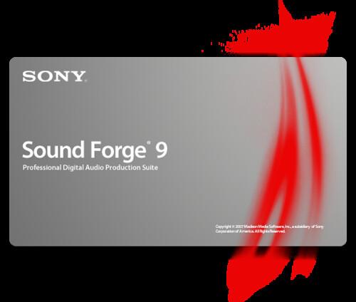 Активатор/Кряк/Ключ для Sony Sound Forge 9.0/10 Final 2011 Рабочий актив