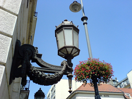 Lamp in Budapest