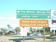 CA-62 East at CA-247 North (sagebrushgis) Tags: california sign yuccavalley biggreensign ca247 ca62 californiastatehighway