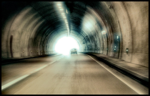 Light at the end of tunnel by Jsome1, on Flickr