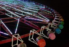Palette Town Ferris Wheel (Daikanransha) (animefx) Tags: camera color colour japan digital canon fun eos japanese lights tokyo colorful waterfront view ride wide large nippon odaiba lit dslr nihon 2007 zepptokyo tokina1224mmf4 japantrip palettetown palettetownferriswheel 40d daikanransha tokyowaterfront