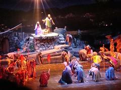 The Rockette Nativity Scene