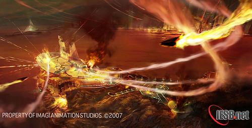 071220 - 好萊塢3DCG電影『科學小飛俠 Gatchaman』公開最新美術概念稿以及劇情內幕