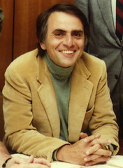 Carl Sagan by Alex Alonso