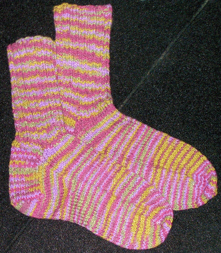 First Knitted Socks