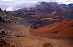 Haleakala Crater, Maui, Hawaii (moonjazz) Tags: park travel mountain nature wow wonderful wonder landscape island volcano hawaii amazing interesting energy paradise view natural earth maui hike best explore creation haleakala crater valley excellent summit vulcan geography geology slope daytrip jewel dormant flckr viepoint mywinners