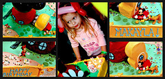 i am three (Miro-Foto) Tags: birthday party girl cake collage kids children mouse kid toddler child mosaic mickey clubhouse makayla