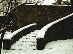 Stone Staircase (cedarkayak) Tags: ruins michigan stonycreekmetropark stonestaircase