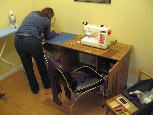 Sewing nook.