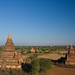 moon over Bagan