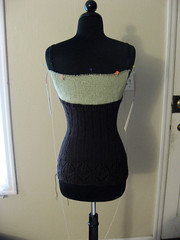 Linen progress top 2 - back