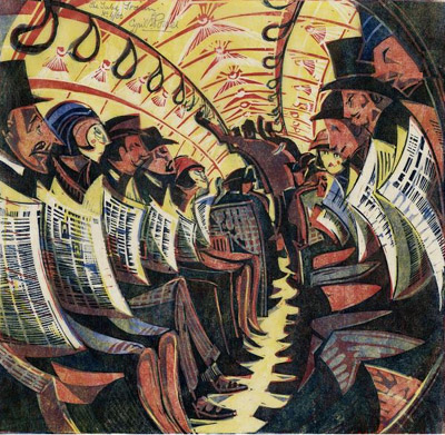 Cyril E. Power, The Tube Train, 1934