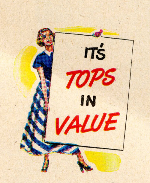 Damn right it's TOPS in value!