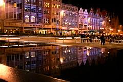 Light Night in the square (Designcat) Tags: nottingham light reflection night illuminations notts fiatlux lightnight aplusphoto diamondclassphotographer flickrdiamond ilovemypic designcat