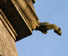 Ploudiry glise St Pierre (Anne L56) Tags: bretagne glise gargouille finistre ploudiry