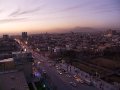 Iraq Kurdistan (Chris Kutschera) Tags: street sunset dark iraq sombre rue kurdistan irak coucherdusoleil suleimania