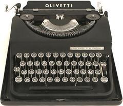 מכונת כתיבה. אני חושב.