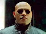 Morpheus in The Matrix