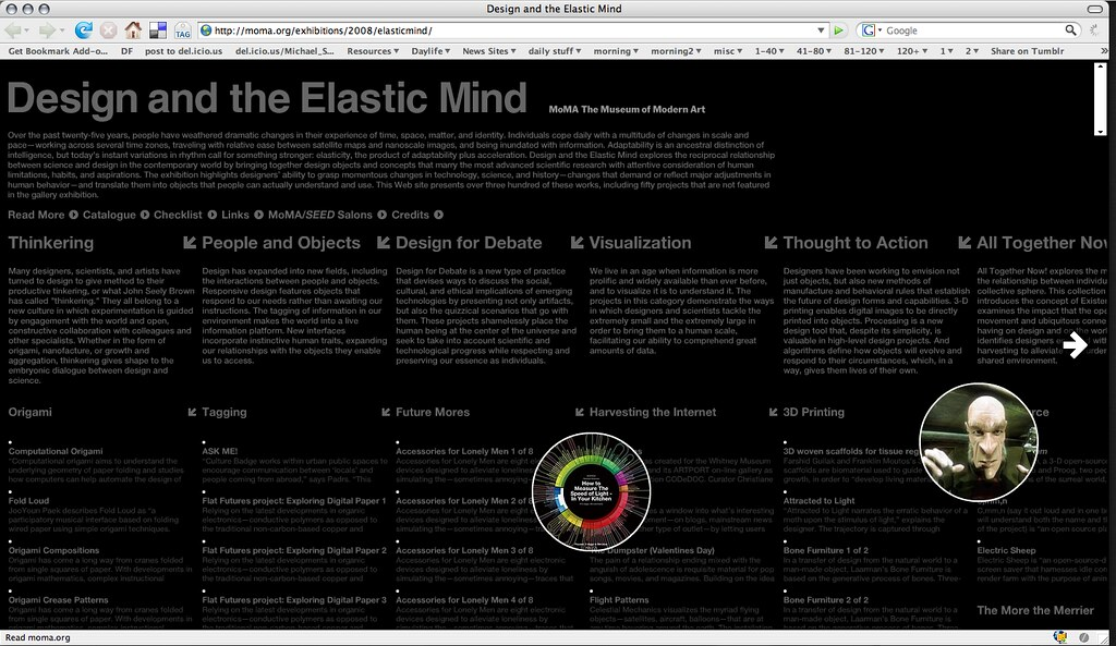 Design and Elastic Mind