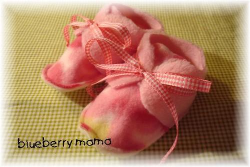 Fleece Baby Crib Shoe