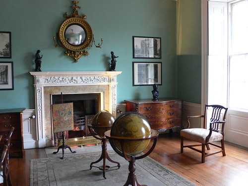 Library at the Georgian house, Bristol