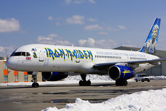 Iron Maiden Boeing 757 (Tom Podolec) Tags: world music toronto ontario canada rock metal plane canon airplane ed star fly back airport concert iron tour time aircraft aviation lounge north band 666 landmark aeroplane international 200 boeing dslr heavy mississauga somewhere ironmaiden maiden pearson 08 yyz b757 2470 torontopearsoninternationalairport allrightsreserved 75723a 40d astraeus cyyz news46 gojib edforceone somewherebackintimeworldtour08 thisimagemaynotbeusedinanywaywithoutpriorpermission 20062008 aeu666 200803151256450115