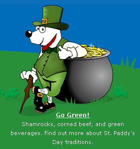 DogPile St Patrick's Day Logo